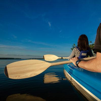 Kayak and pontoon paddles